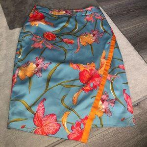 Beautiful flowery skirt.